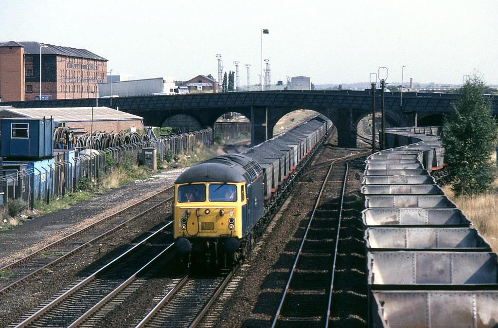 ... BR Class 56 56026, Burton-on-Trent | by Crewcastrian