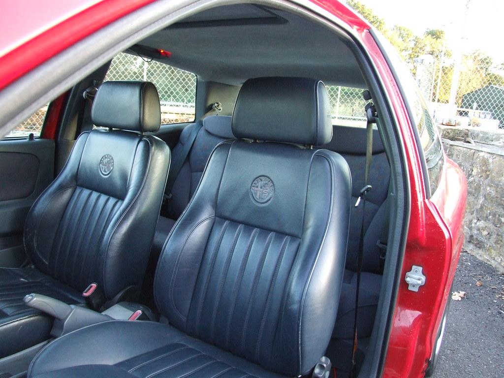 Alfa Romeo 156 Seats Straight Fit Into A Fiat Bravo Nick Smith By Bmxer