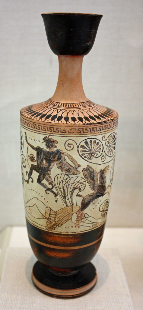 Terracotta Lekythos Oil Flask Terracotta Lekythos Oil