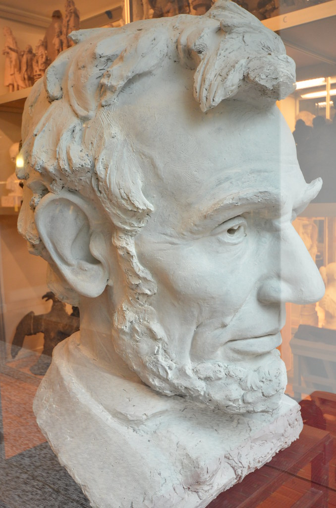 New-York Historical Society: Bust of Abraham Lincoln, iden ...