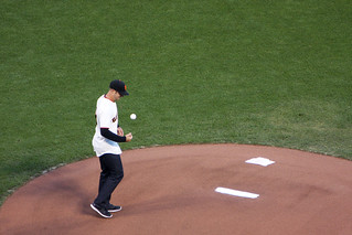 Alex Smith Throws Out The 1st Pitch | by evie22