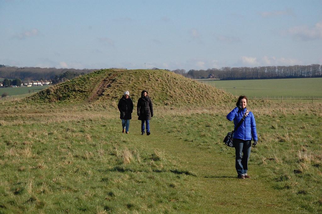 Túmulos en Stonehenge