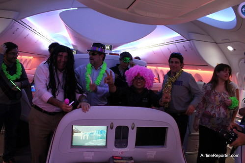 LAN 787 PARTY | by AirlineReporter.com