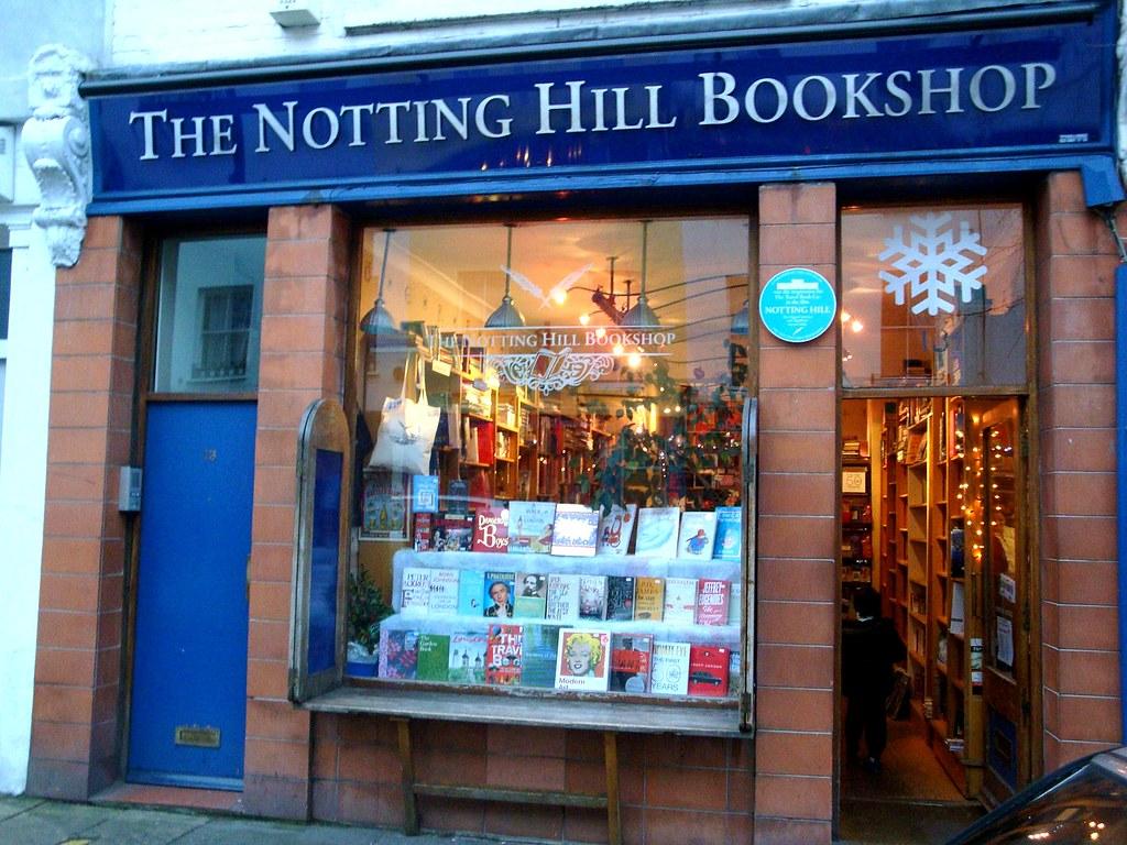 Notting hill bookshop la librairie du film coup de - Coup de foudre a notting hill musique ...