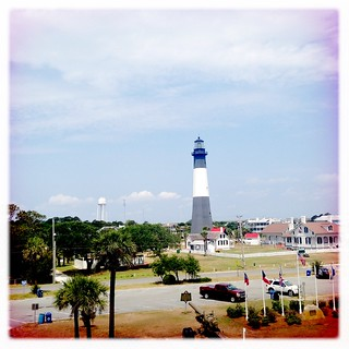 Tybee Island Lighthouse from Fort Screven | by chasing parades