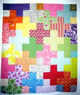 The Plus Quilt Top | by Euphoria...
