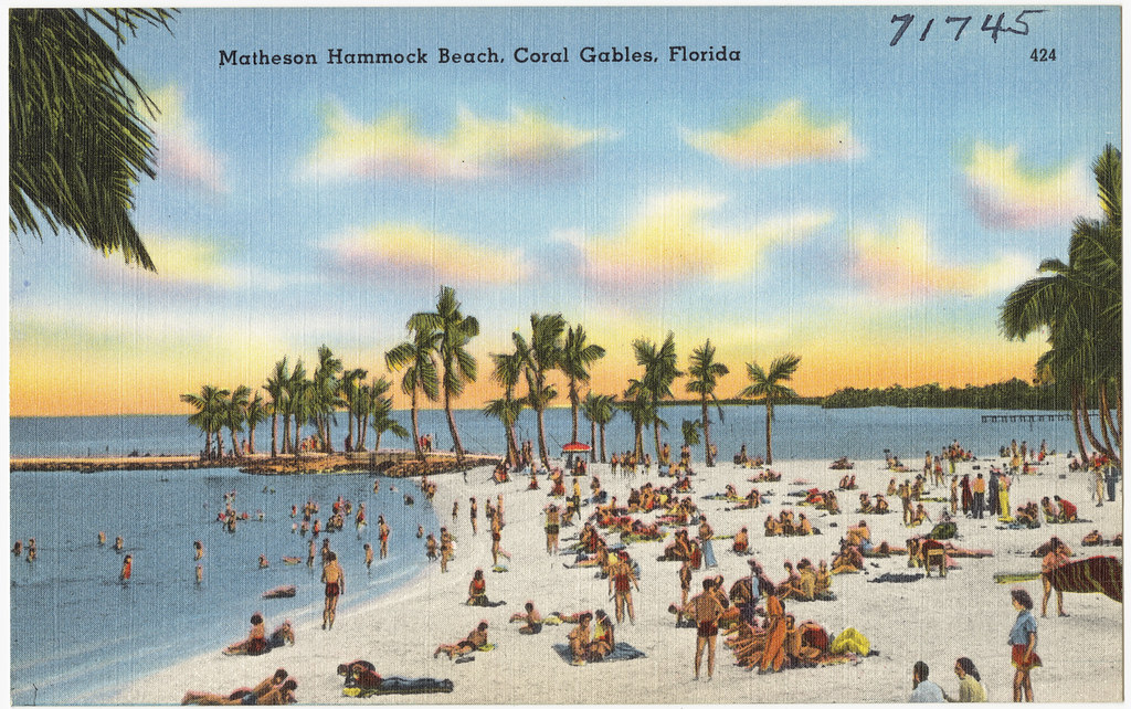 Florida Map Beach Cities