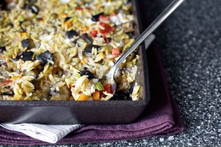 baked orzo with eggplant | by smitten kitchen