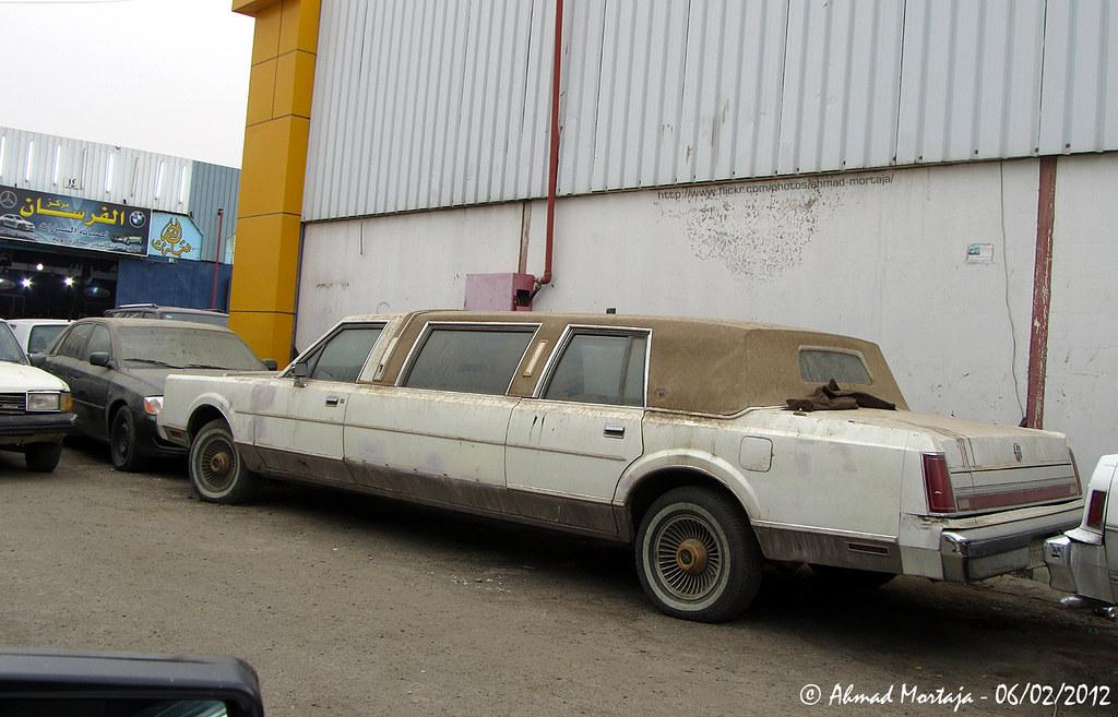 Lincoln Town Car Limousine 1st Generation 1985 1989
