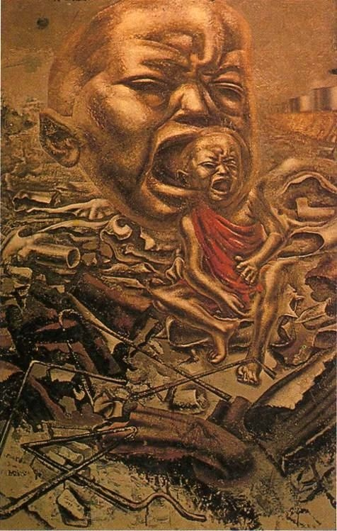 Sigueiros, David Alfaro (1896-1974) - 1937 The Echo of the… | Flickr