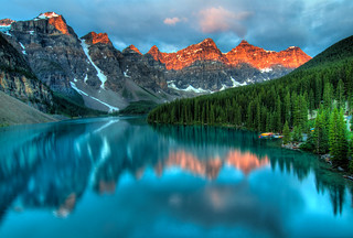Moraine Lake Sunrise | by `James Wheeler