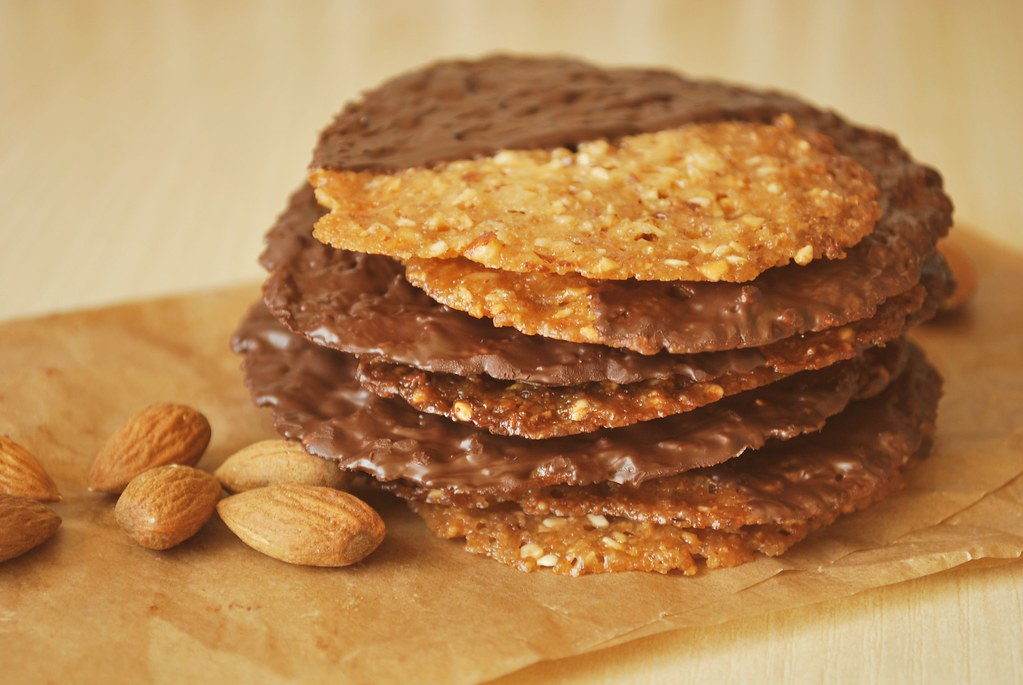 Almond-Oat Lace Cookies | martyna | Flickr