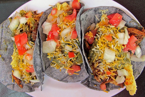 Tia Betty Blue's Breakfast Tacos with Green Chile | by Tami_Moore
