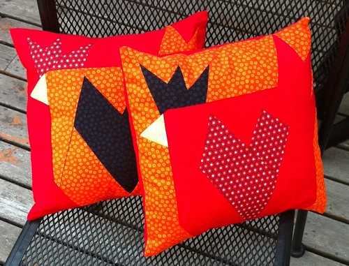 Barn Chicks Pillows | by Klucking Bear