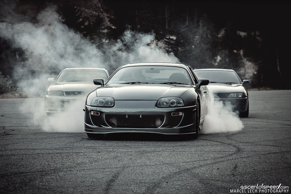 New Toyota Supra >> Supra vs. Skyline's | My Facebook | Marcel Lech | Flickr