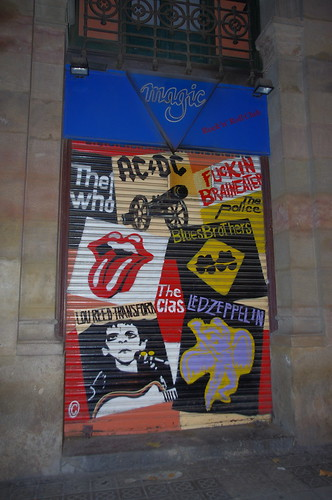 Rock & Roll Roll Up Door, of the Magic Rock Club | by Joey Z1