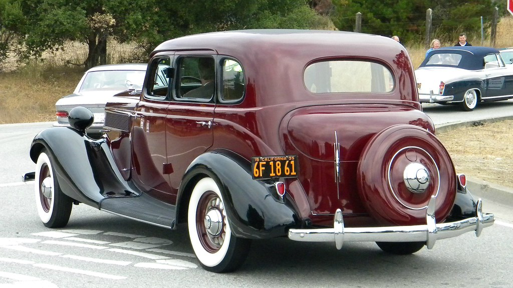 Sedan >> 1935 Studebaker Commander Sedan 2 | Photographed at the 2012… | Flickr