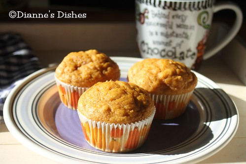 Perfect Pumpkin Muffins | by Dianne's Dishes