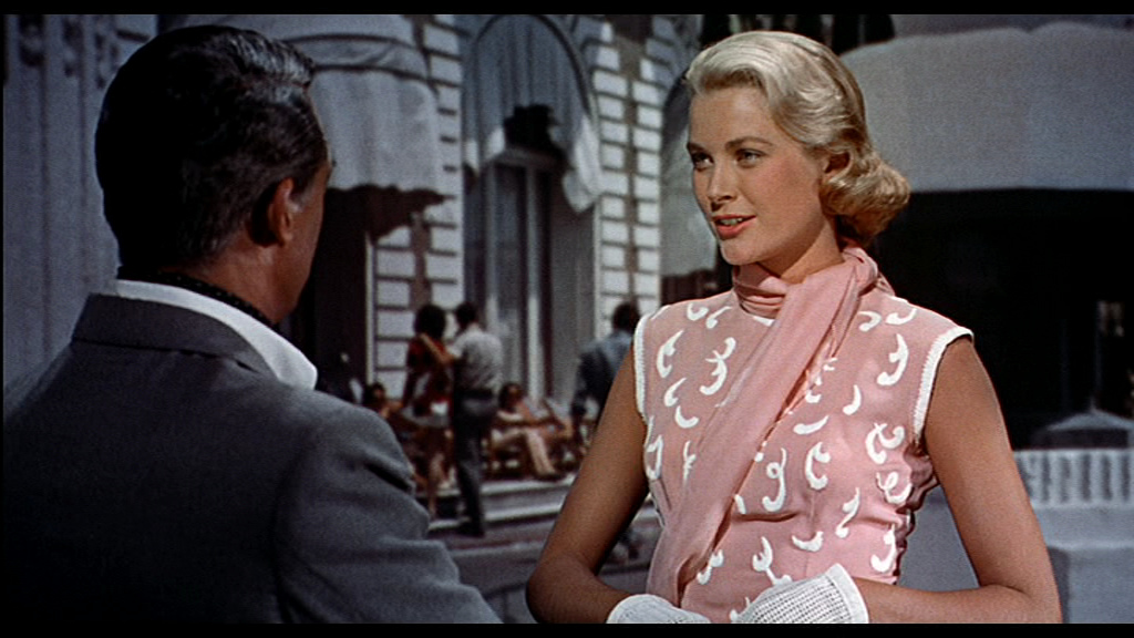 "Grace Kelly's pink dress in ""To catch a thief"", 1955 