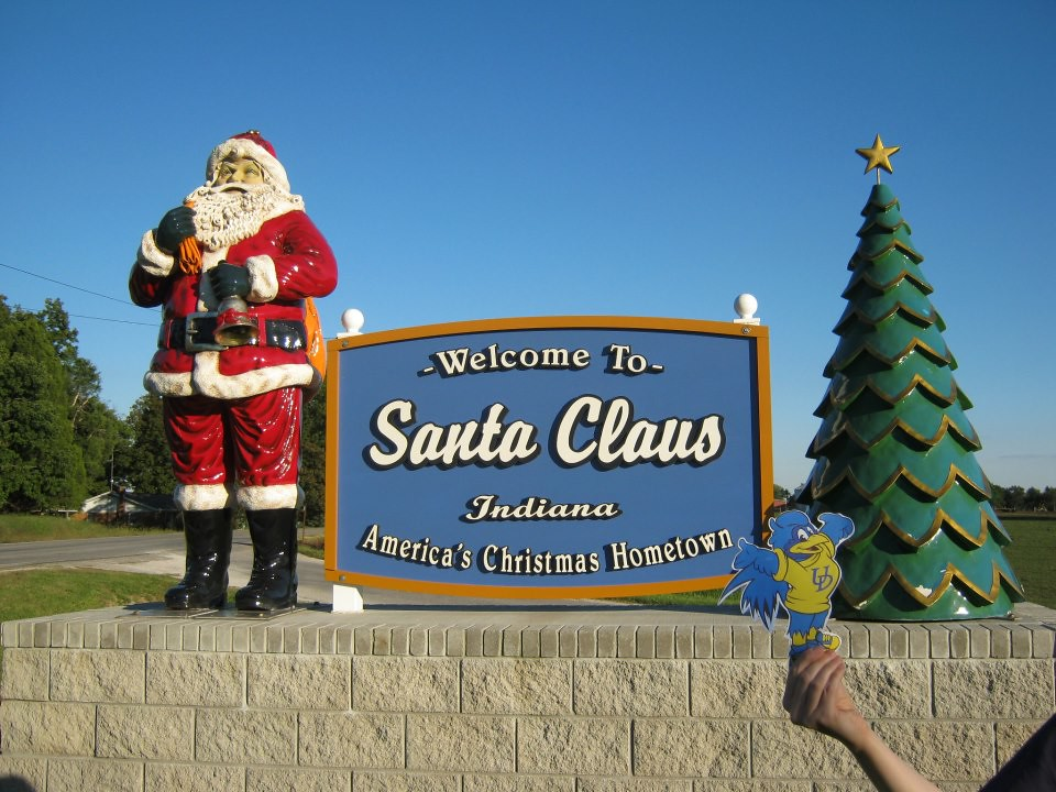Kristine morrison lake 39 01 santa claus indiana for Best places to go for christmas in the usa
