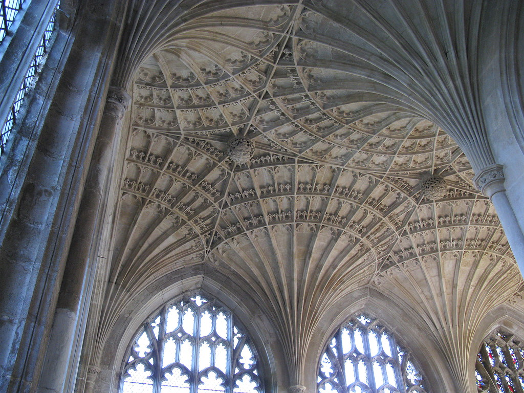 The Quot New Building Quot C 1500 Fan Vaulted Ceiling Peterboro