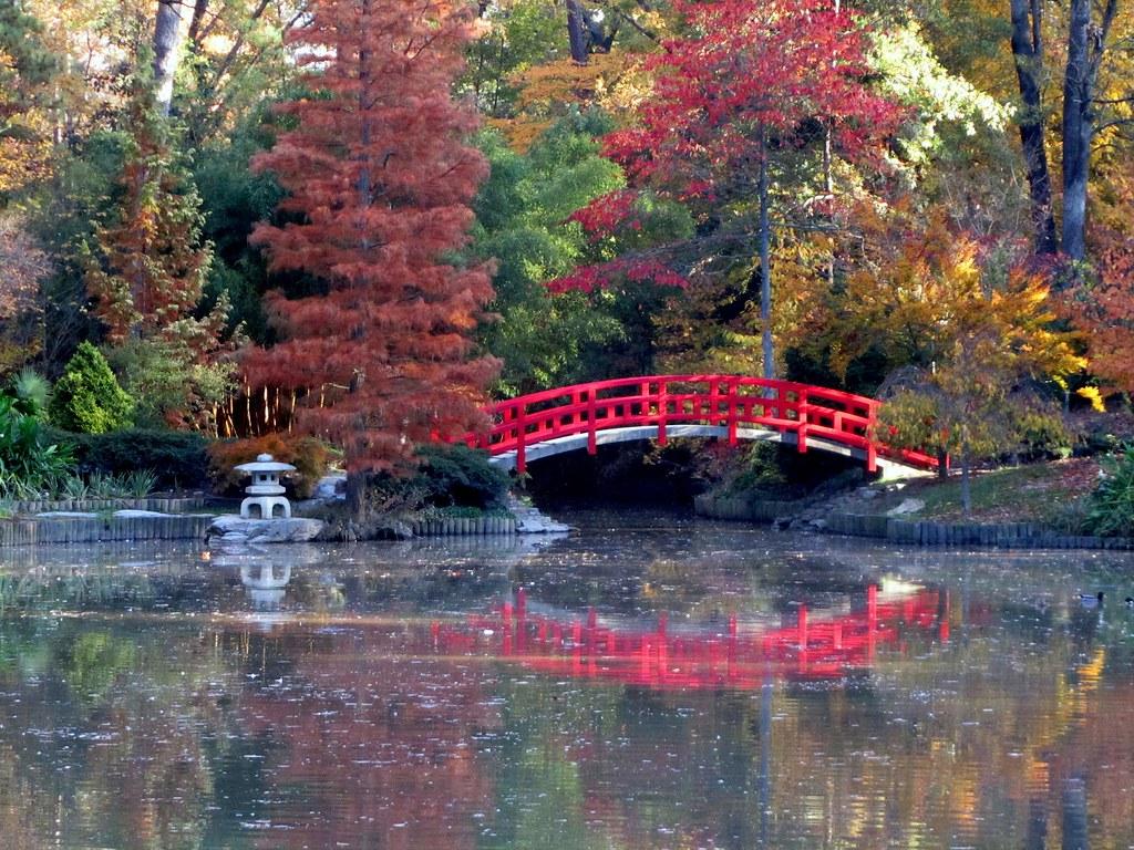 Japanese bridge sarah duke gardens japanese bridge for Japanese garden bridge