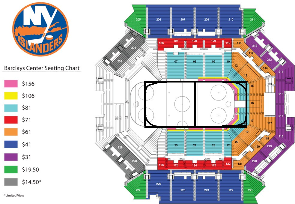 Barclays center seating chart mahhockey flickr