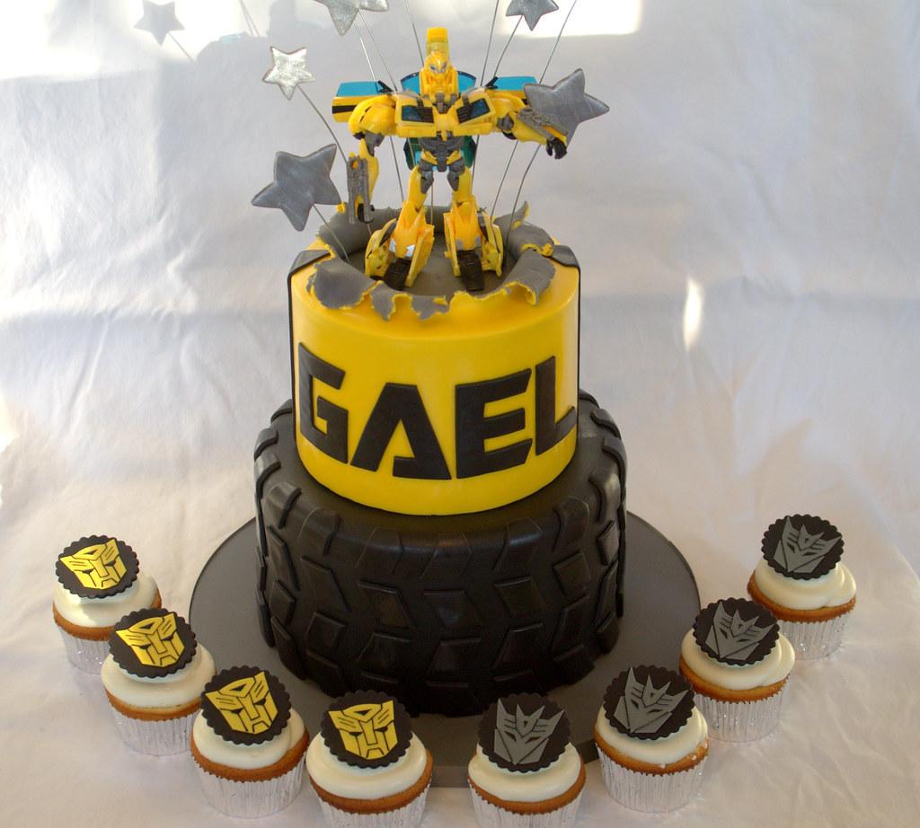 Transformer Cake Pan