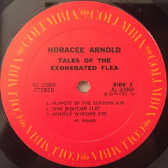 HARCEE ARNOLD:TALES OF THE EXONERATED FLEA(LABEL SIDE-A)
