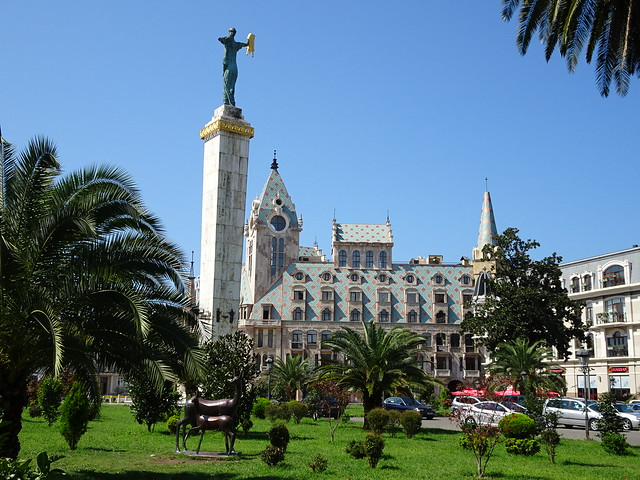 Batumi (the regional capital of Adjara A.R.)