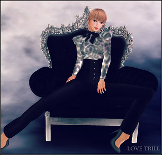 Fabulously Free in SL - The Glamour Black Hunt | by Love Trill