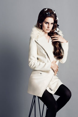 Lana Del Rey's H&M Fall 2012 Campaign | by Winter Phoenix