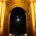Arc de Triomphe moonrise