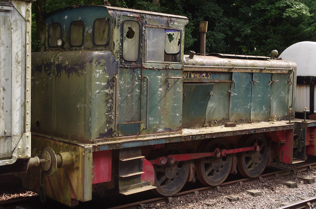 No 422 Andrew Barclay Diesel Shunting Locomotive Hot Wh