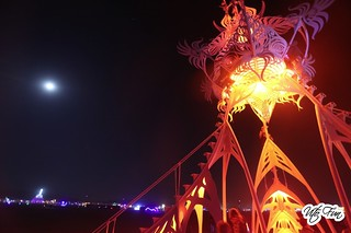 Burning Man 2012 85; Star Seed Night Moon | by Vito Fun