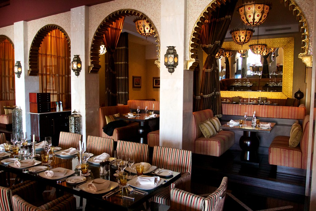 Restaurant a moroccan themed at the fabulous