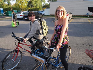 At the Hillhurst Sunnyside Farmers Market bike valet | by Calgary Cycle Chic