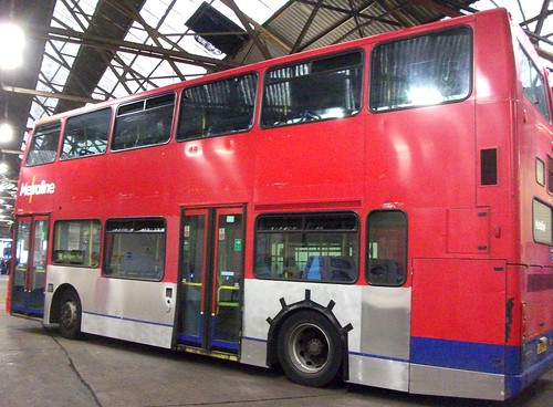 Metroline VP494 being made ready for refurbishment. 09/10/10 | by Ledlon89
