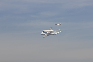 Space shuttle Endeavour makes a grand return to LA | by U.S. Army Corps of Engineers