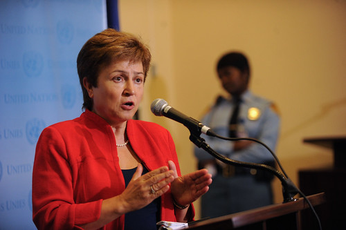 Commissioner Kristalina Georgieva | by European External Action Service - EEAS