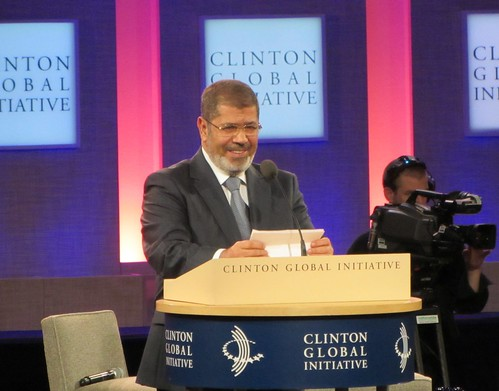 Egyptian President Mohamed Morsi | by WilliamKoenig
