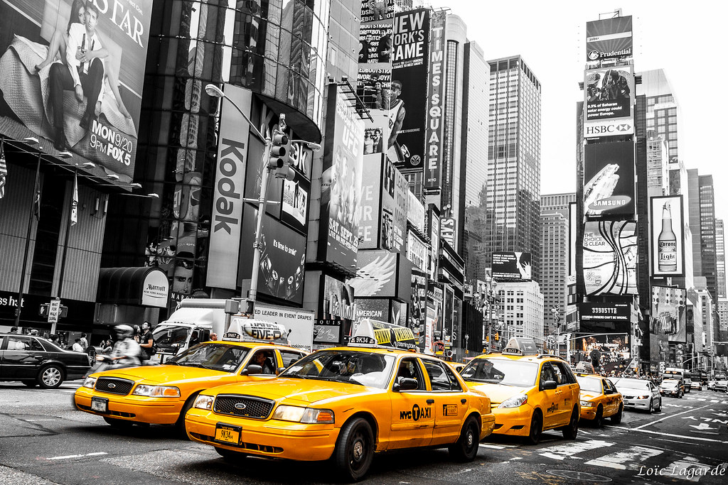 Yellow cab nyc as always my website my flickr my for Schuhschrank yellow cab