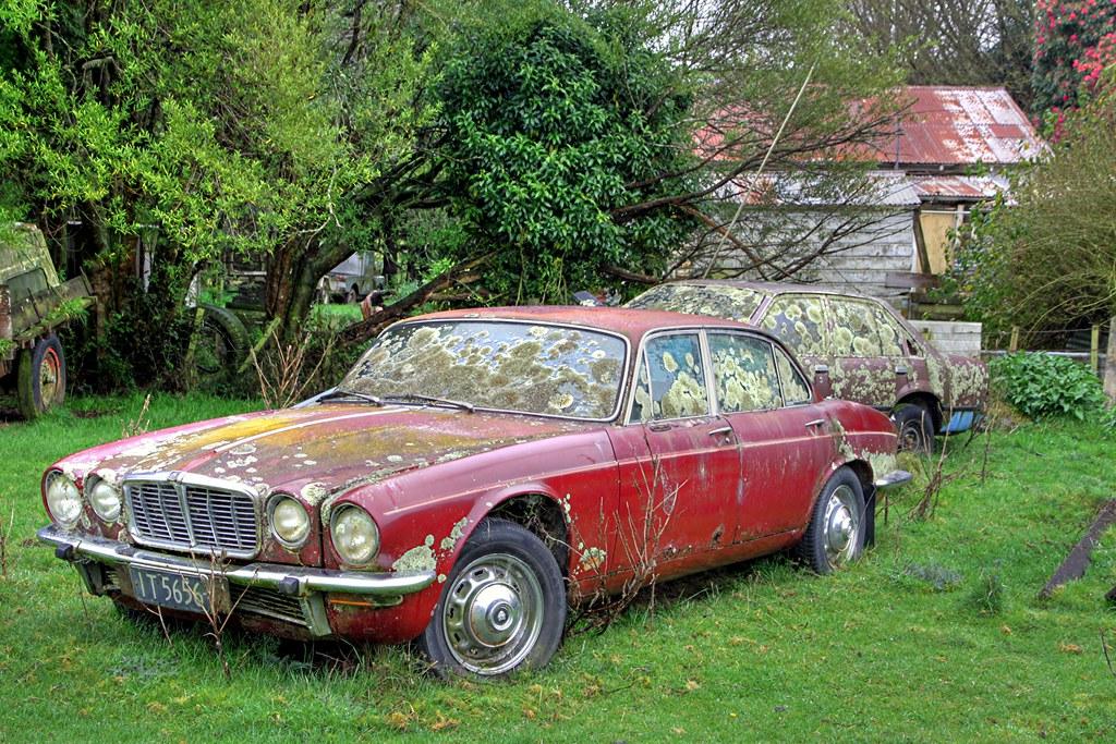 Old car, Jaguar XJ6, Norsewood, Manawatu, New Zealand | Flickr
