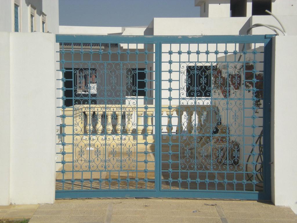 Porte ext rieur tunis citizen59 flickr for Masonite porte exterieur