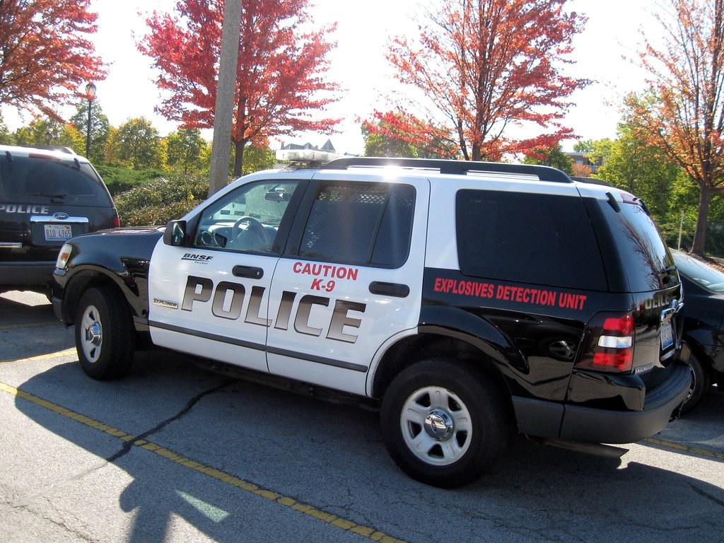 IL - BNSF Police K-9 | At Batavia Police Station ... Pacific Railway Company