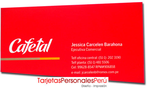modelos de tarjetas personales plastificado mate corte flickr