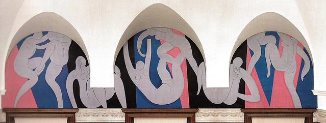 Henri Matisse - The Dance, 1933 at Barnes Foundation ...