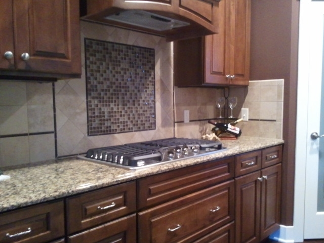 ... Ashby 2012 Fall Parade Countertop Cambria Canterbury   Backsplash Costa  Rei 6x6 Oro Miele And Daltile
