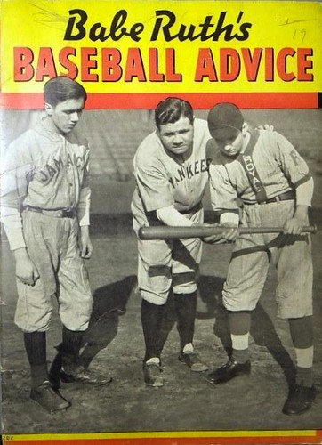 Babe Ruth's Baseball Advice | by baseballart