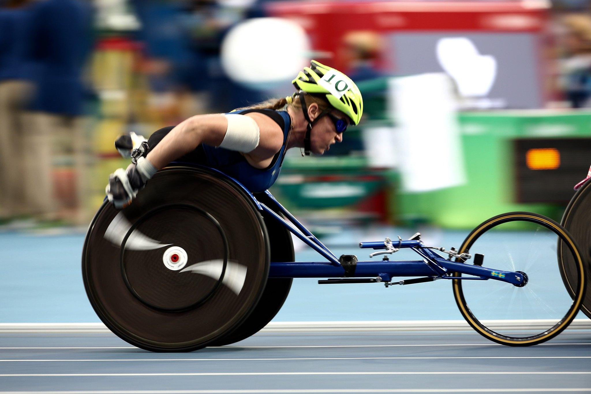 Gunilla Wallengren - Athletics - Women´s 1500m T54 FINAL - Paralympics Rio 2016